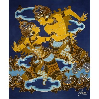 RAMA AND SHINTA BATIK PAINTING