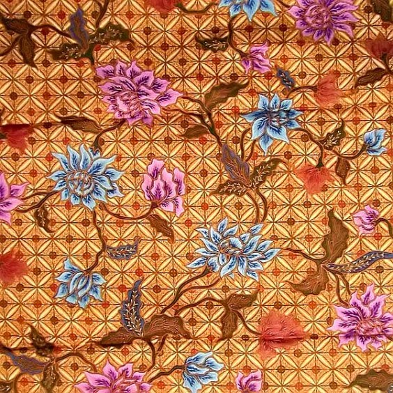 BATIK FABRIC / TEXTILE MULTI COLOR
