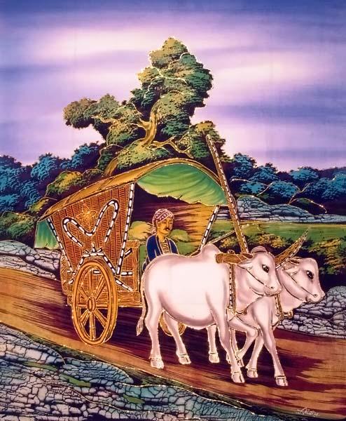 sale batik painting